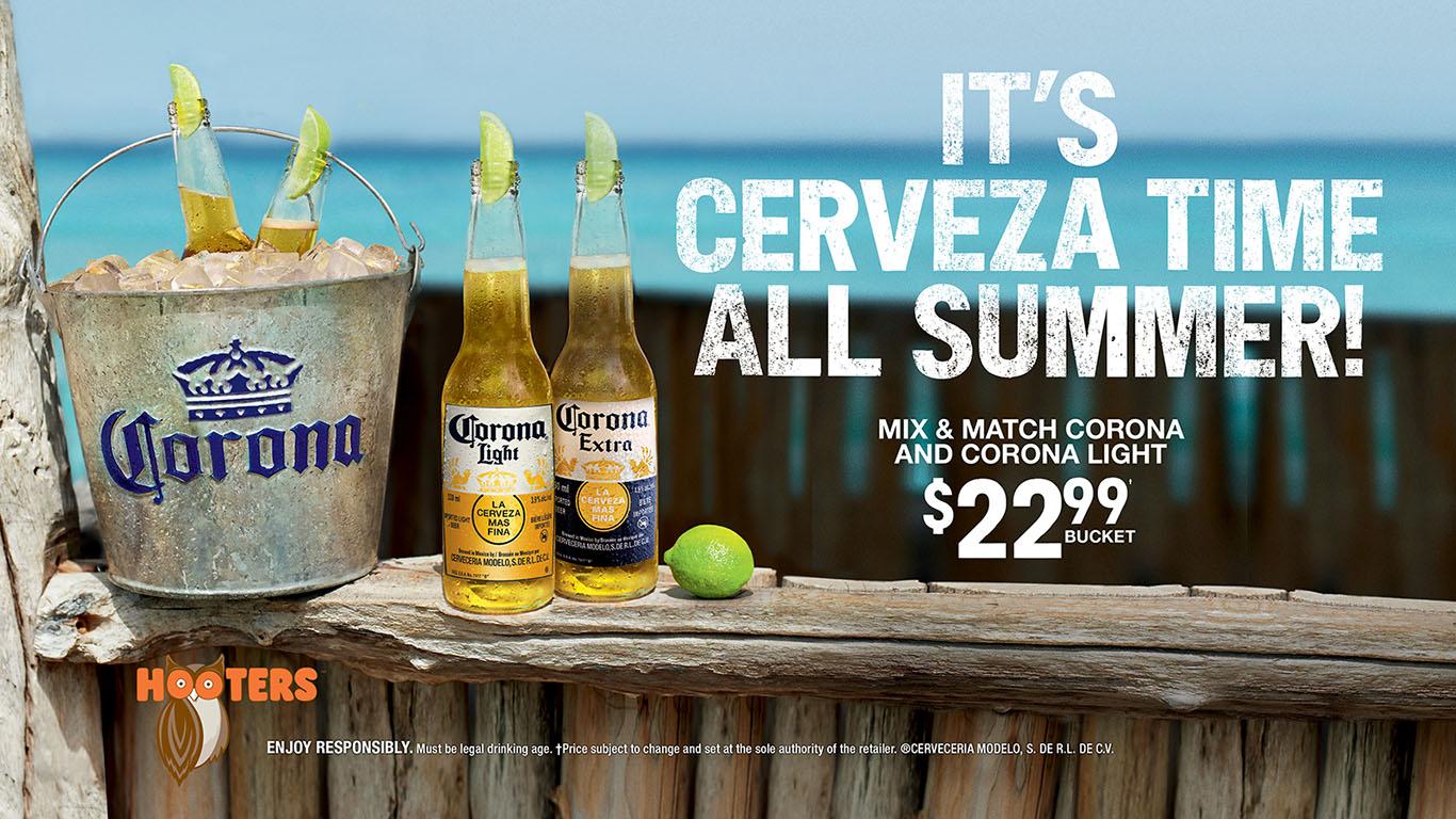 Corona Bucket Special