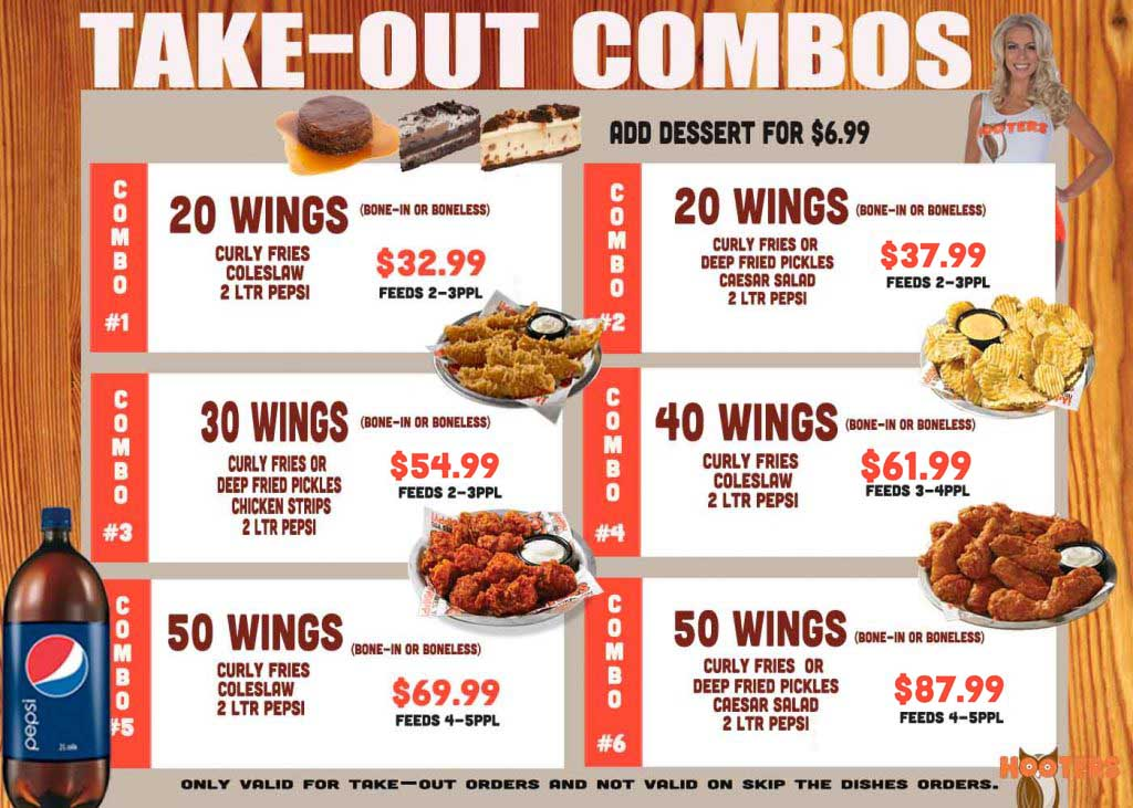 Take out combos Insert