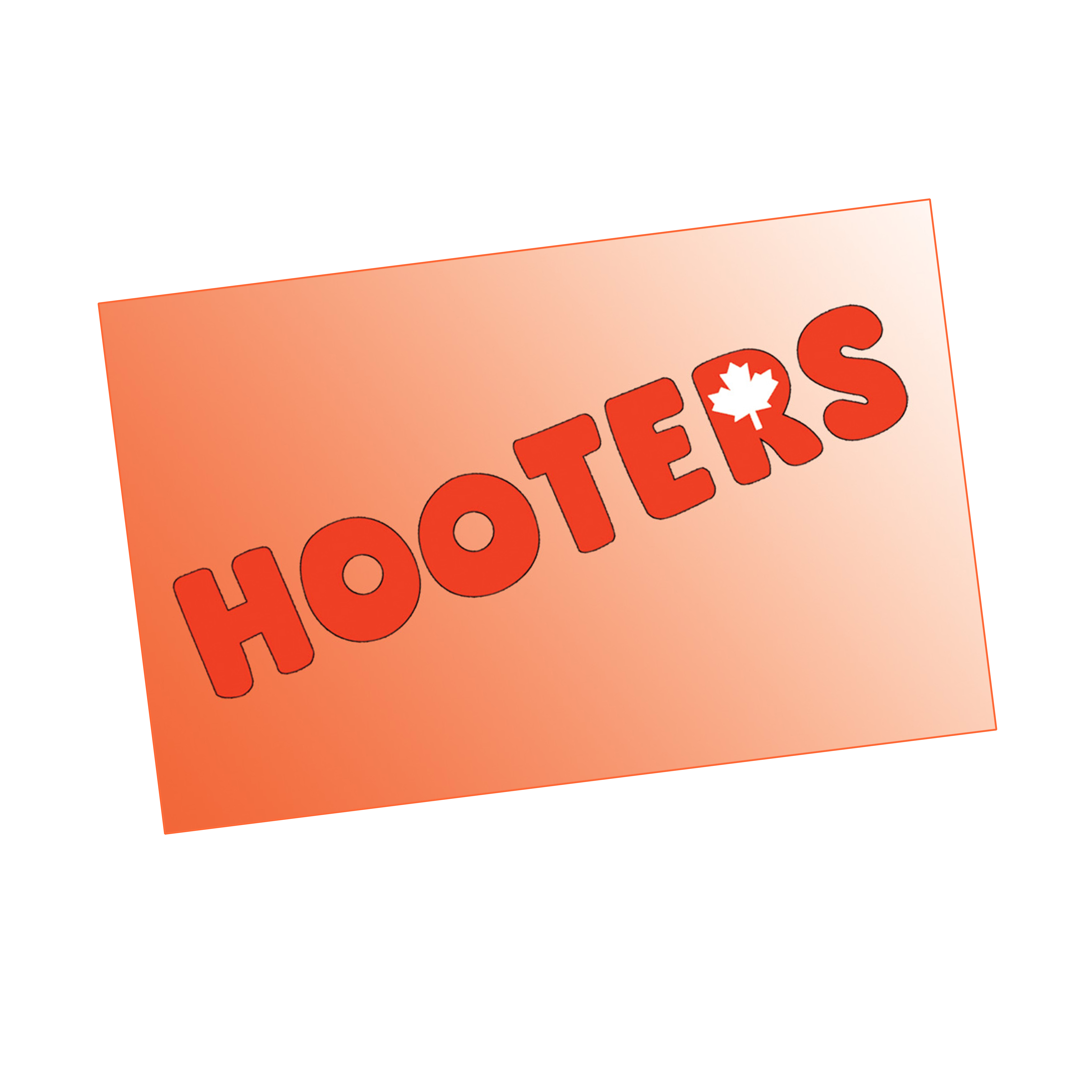 Hooters Gift Card1