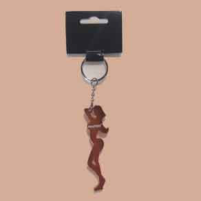 Hooters-Girl-Silhouette-Keychain